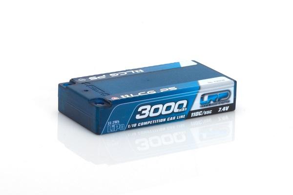 LRP 3000mah Shorty LCG P5 110C55C 7.4v LiPo (1)