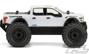 Pro-Line 2017 Ford F-150 Raptor Clear Body For The PRO-MT