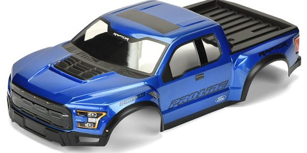 Pro-Line Pre-Painted & Cut 2017 Ford F-150 Raptor Body