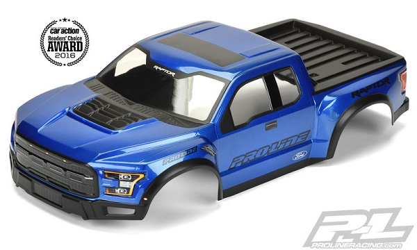 Pro-Line Pre-Painted & Cut 2017 Ford F-150 Raptor Body (1)
