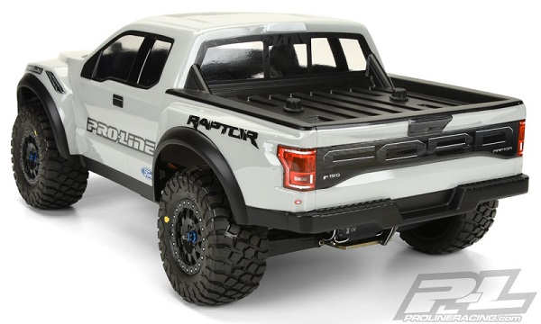 Pro-Line Pre-Painted & Cut 2017 Ford F-150 Raptor Body (10)
