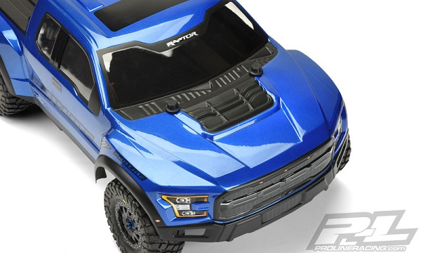 Pro-Line Pre-Painted & Cut 2017 Ford F-150 Raptor Body (4)