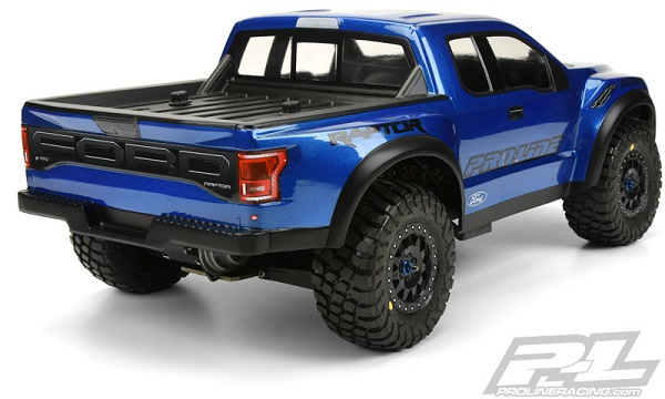 Pro-Line Pre-Painted & Cut 2017 Ford F-150 Raptor Body (5)