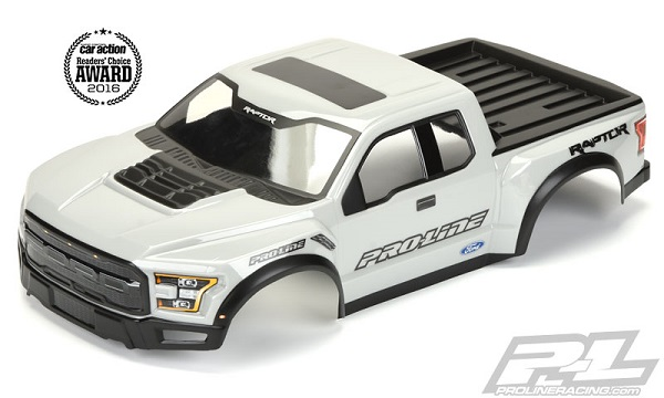 Pro-Line Pre-Painted & Cut 2017 Ford F-150 Raptor Body (6)