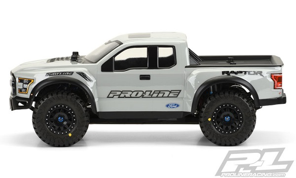 Pro-Line Pre-Painted & Cut 2017 Ford F-150 Raptor Body (7)