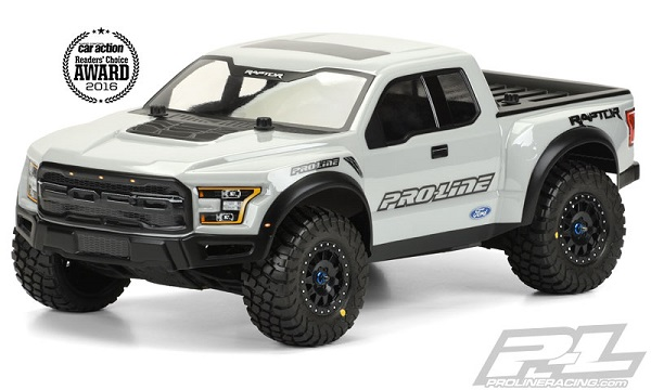 Pro-Line Pre-Painted & Cut 2017 Ford F-150 Raptor Body (8)