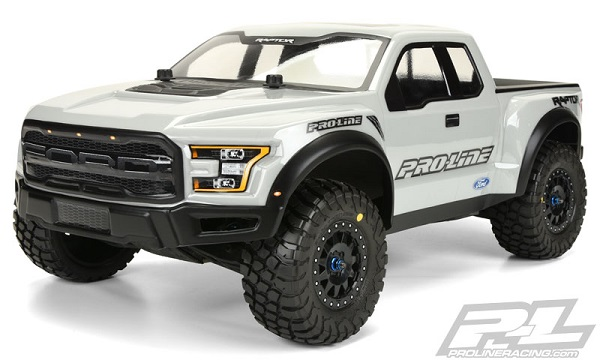 Pro-Line Pre-Painted & Cut 2017 Ford F-150 Raptor Body (9)