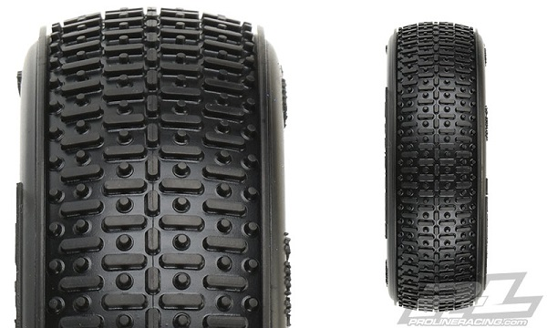 Pro-Line Transistor 2.2 2WD Buggy Front Tires (2)