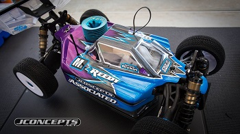 Product Debut: JConcepts Strike 2 Body For the Team Associated RC8B3[VIDEO]