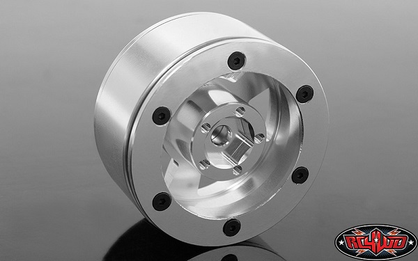 RC4WD Mickey Thompson Street Comp SC-5 1.9 Beadlock Wheels (Hyper Silver) (2)