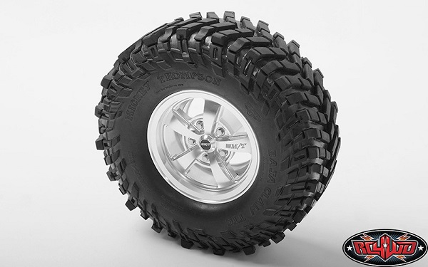 RC4WD Mickey Thompson Street Comp SC-5 1.9 Beadlock Wheels (Hyper Silver) (6)
