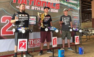 Spencer Rivkin (Associated) and Ryan Maifield (TLR) Split ROAR Nitro Off-Road Nats Titles