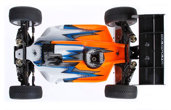 Serpent High Downforce Body For The Cobra SRX8 1_8 Nitro Buggy (2)
