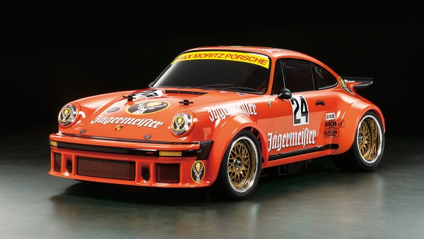 Tamiya Porsche 934 Jägermeister 40th Anniversary Limited Edition Kit (1)