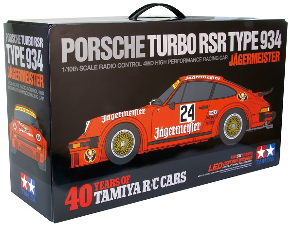 Tamiya Porsche 934 Jägermeister 40th Anniversary Limited Edition Kit (2)