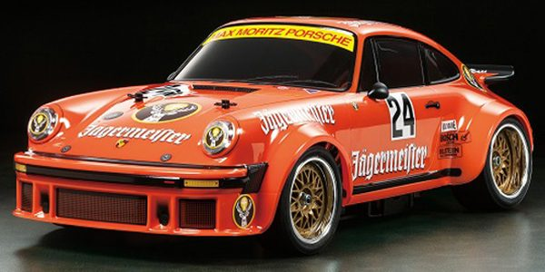 Tamiya Limited Edition Porsche 934 Jägermeister 40th Anniversary Kit