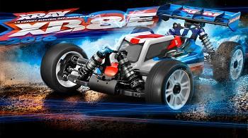 XRAY 2016 XB8E 1/8 4wd Electric Buggy Kit