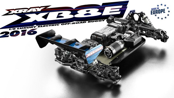 XRAY 2016 XB8E 18 4wd Electric Buggy Kit (3)