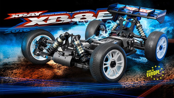 XRAY 2016 XB8E 18 4wd Electric Buggy Kit (4)