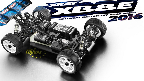 XRAY 2016 XB8E 18 4wd Electric Buggy Kit (6)