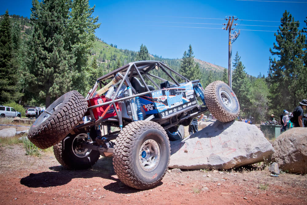 Many Axialfest participants not only ran Axial's new Bomber, but could also get up and close to the full sized Bomber that was on site.