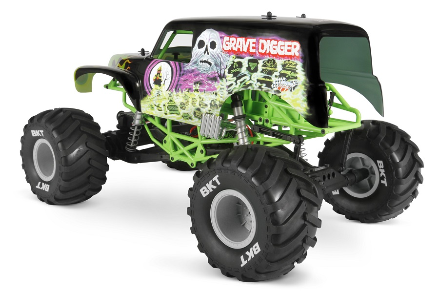 Axial RTR SMT10 Grave Digger Monster Jam Truck (5)