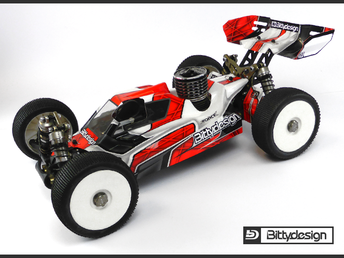 Bittydesign FORCE Body For TLR 8ight 4.0 (1)