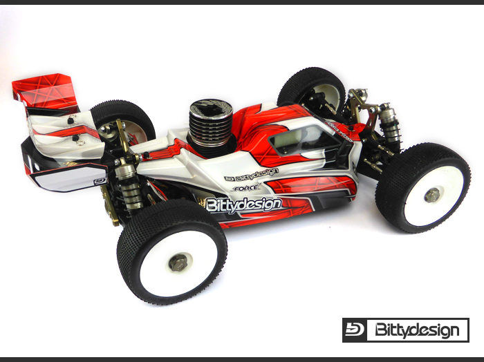 Bittydesign FORCE Body For TLR 8ight 4.0 (2)