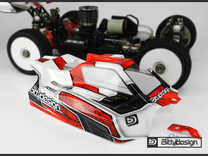 Bittydesign FORCE Body For TLR 8ight 4.0 (5)