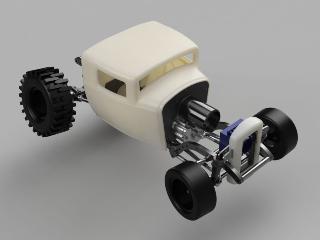 Custom 3D-printed Hot Rod [READER'S RIDE] - RC Car Action