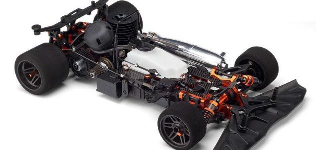 HB Racing introduces R8 1/8-scale 4WD On-Road Car