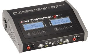 Hitec Power Peak D7 AC/DC Charger
