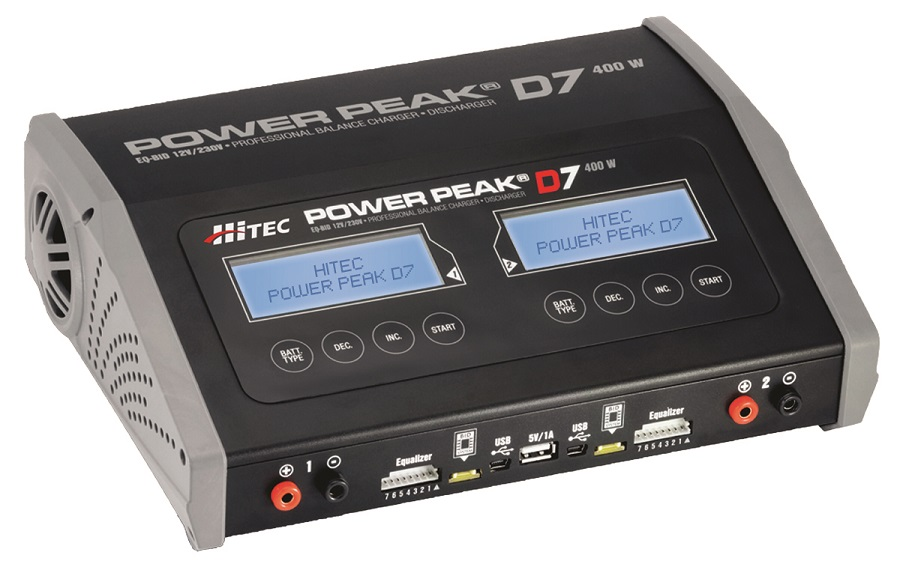 Hitec Power Peak D7 AC_DC Charger
