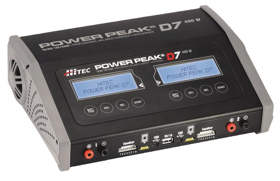 Hitec Power Peak D7 AC_DC Charger