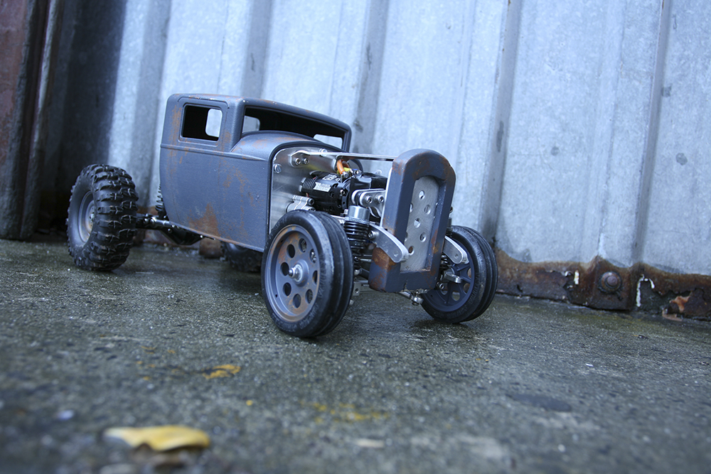 Axial, SCX10, Wraith, Tamiya, Hobbywing, '32 Ford Deuce Coupe, scratchbuilt