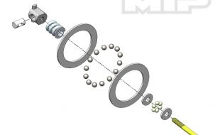 MIP Carbide Diff Ball Rebuild Kit For AE 6/5 Vehicles