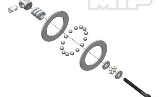 MIP Carbide Diff Ball Rebuild Kit For TLR 22 Vehicles