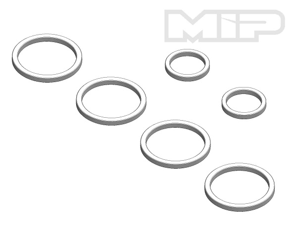 MIP Pucks_Rollers Spacer Conversion Kit For AE B5 To B6
