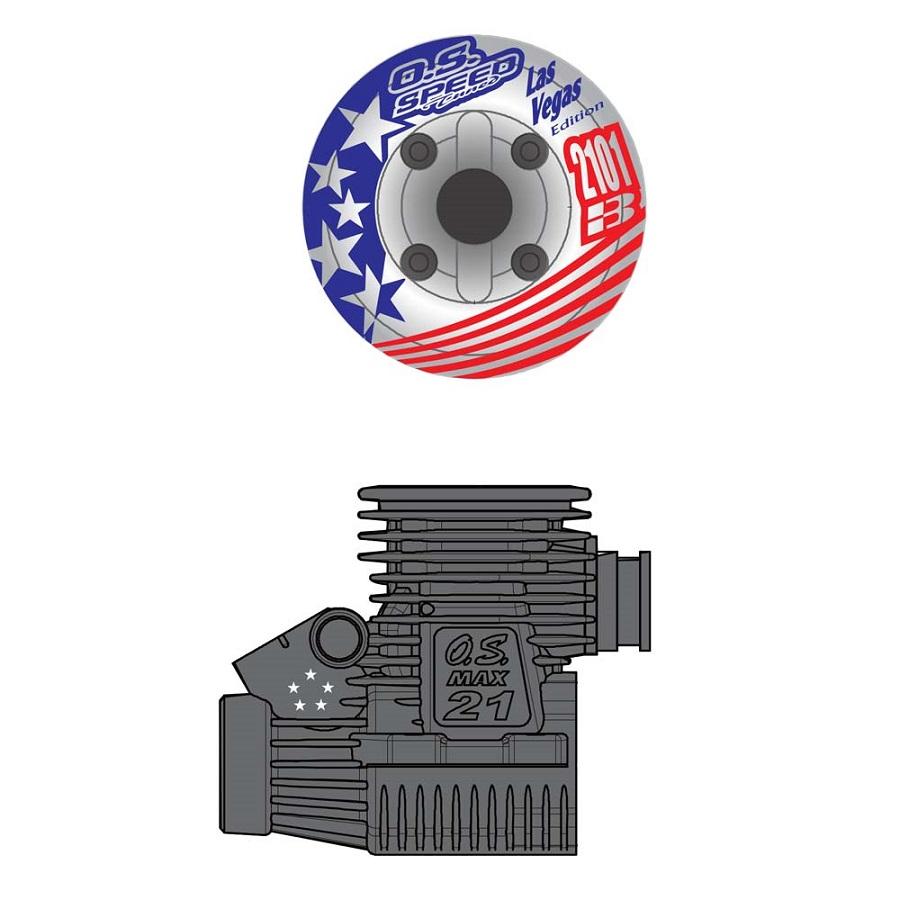 O.S. Engine Speed B2101 Las Vegas Edition