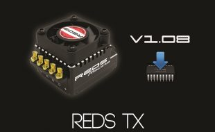 REDS Racing Releases V1.08 Software Update For ESC