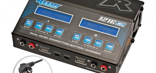 Reedy 1216-C2 Charger Now With Global Power Cords
