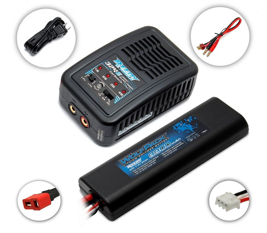 Reedy 324-S Compact Balance Charger & LiPo Combos (1)