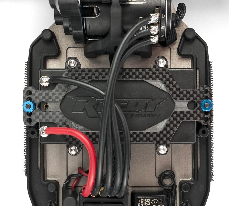 Schelle Carbon Fiber Battery Strap For The Associated B6 & B6D (2)