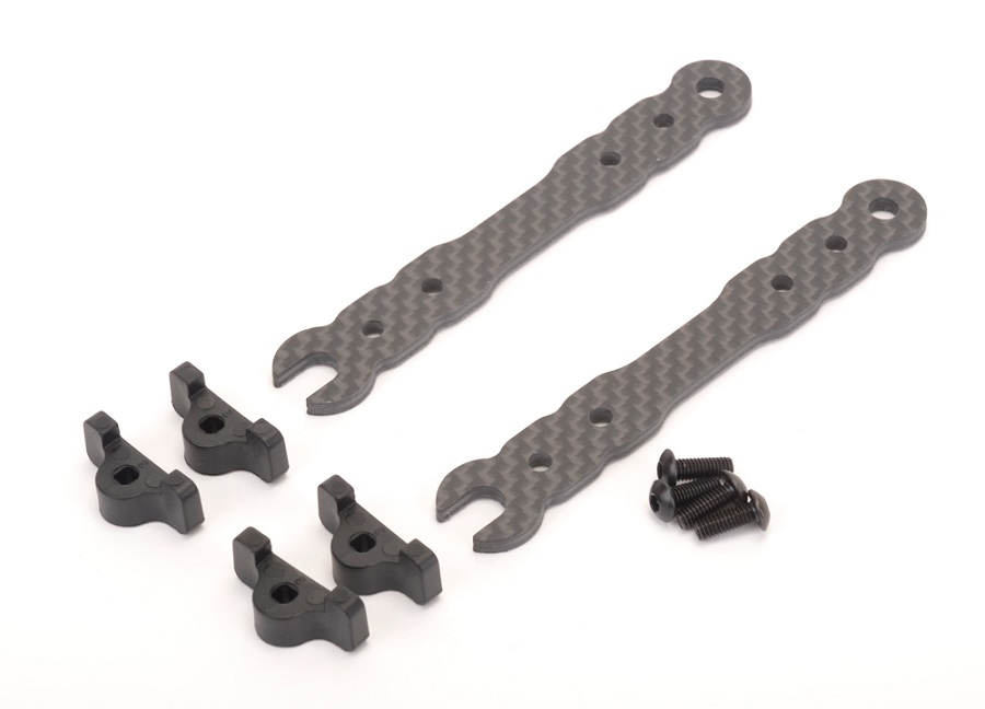 Schumacher CAT K2 Alloy Chassis And LiPo Mounts (3)