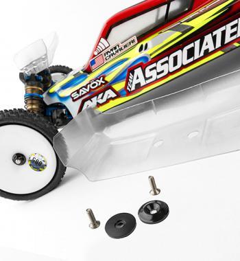 Team Associated Aluminum Wing Buttons (1)