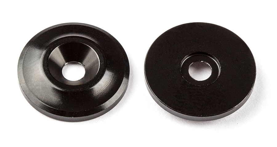 Team Associated Aluminum Wing Buttons (4)