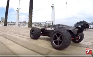 Latest Traxxas Clip: 1/16 E-Revo vs. Long Beach [VIDEO]