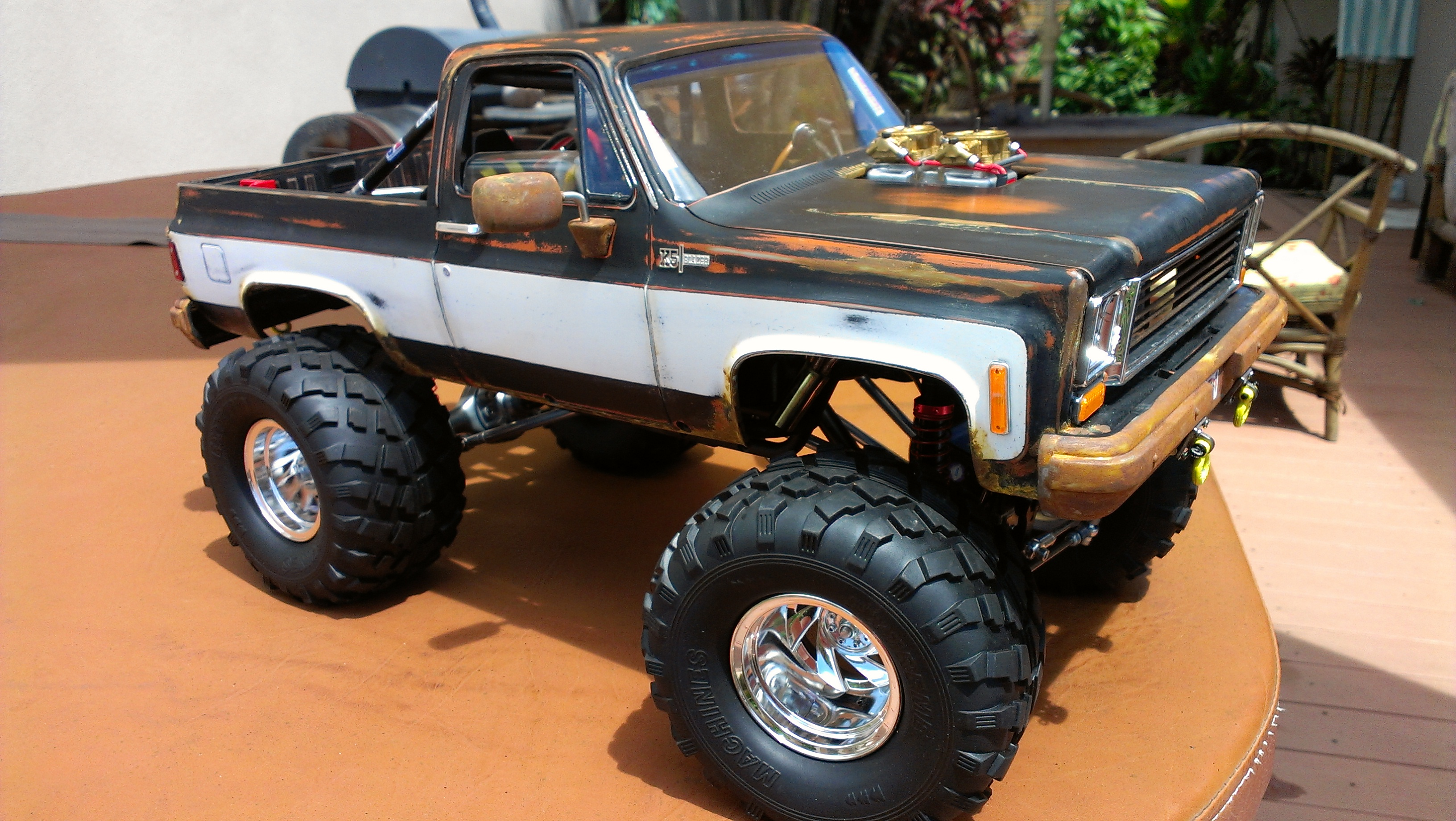 rcx cars with Axial Wraithrc4wd Blazer Hybrid Readers Ride on Hammer S Front Race Wheel furthermore 6 Inch Lift Kit For Dodge Ram 2500 Diesel besides Jeep Xj Cherokee 1984 2001 also Project Traxxas Drag Bandit also Tamiya 190mm Sumo Power Nissan Gtr.