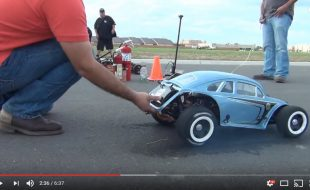 Watch The Big Bug Tear Up a Drag Strip [VIDEO]