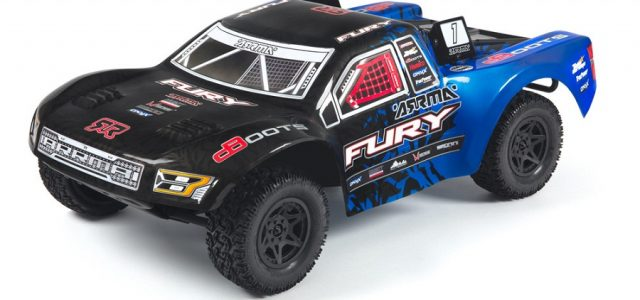 ARRMA RTR Fury Updated With New Radio & Body